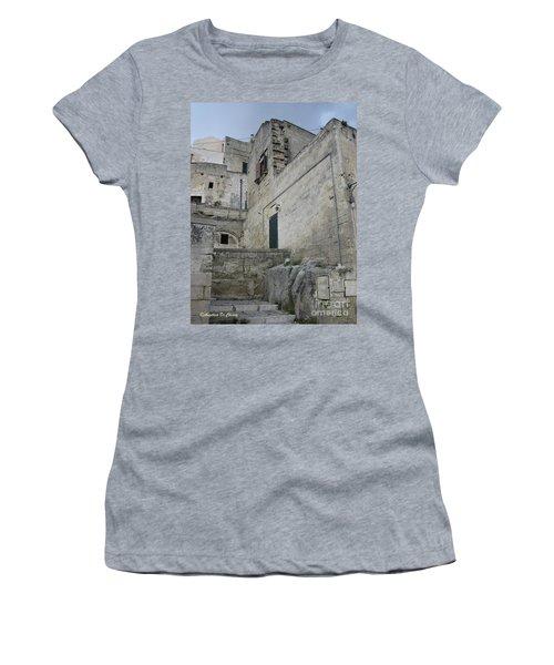 Matera Houses Women's T-Shirt