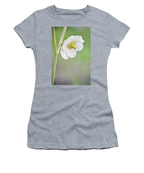 Mayapple Flower Women's T-Shirt (Junior Cut)