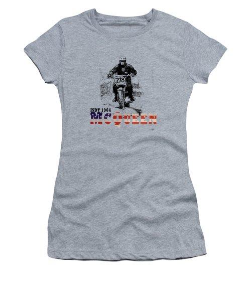 Mcqueen Isdt 1964 Women's T-Shirt