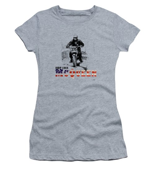 Mcqueen Isdt 1964 Women's T-Shirt (Athletic Fit)