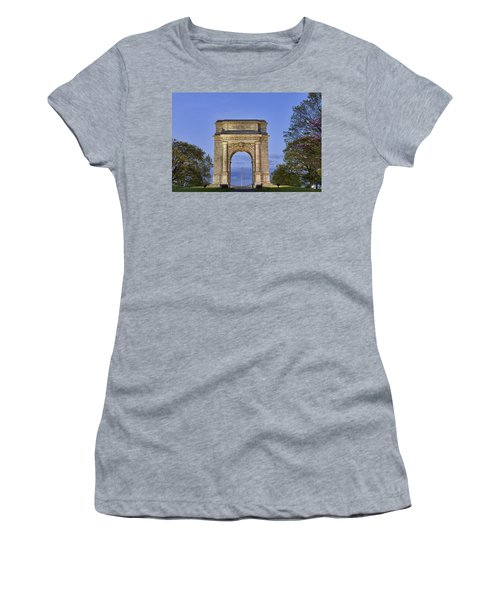 Memorial Arch Valley Forge Women's T-Shirt