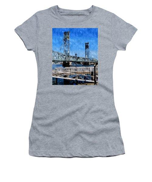 Memorial Bridge Mbwc Women's T-Shirt (Athletic Fit)
