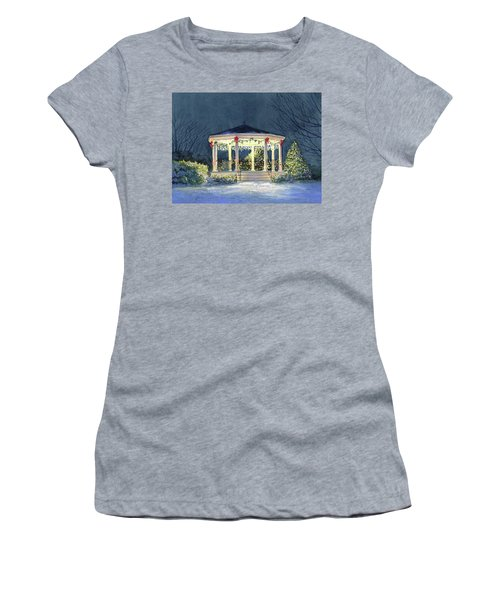 Merry And  Bright II Women's T-Shirt (Athletic Fit)