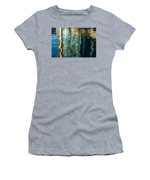 Mesmerizing Abstract Reflections Two Women's T-Shirt