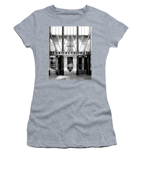 Metropolis Women's T-Shirt (Junior Cut) by Art Shimamura