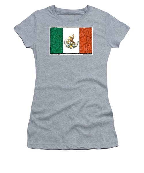 Mexico Flips Bird Women's T-Shirt