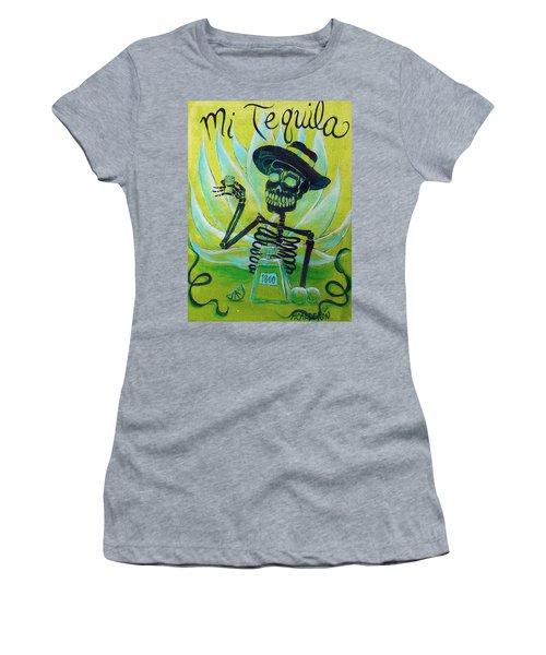 Mi Tequila Women's T-Shirt (Athletic Fit)