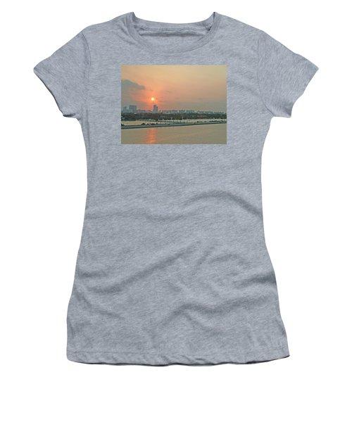 Miami Sunrise Women's T-Shirt