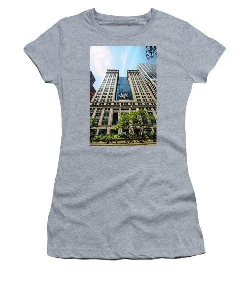 Michael A Bilandic Building Chicago Women's T-Shirt (Athletic Fit)