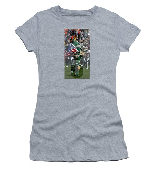Michiganstate Sparty Women's T-Shirt (Junior Cut) by John McGraw
