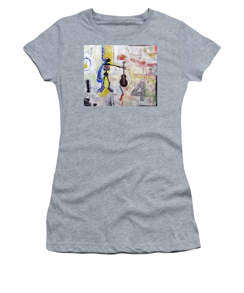 Middle-aged Musician Women's T-Shirt