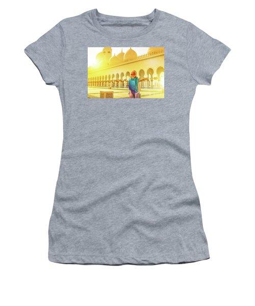 Middle East Tourism Concept Women's T-Shirt