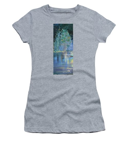 Midnight At Lake Lanier Women's T-Shirt (Athletic Fit)