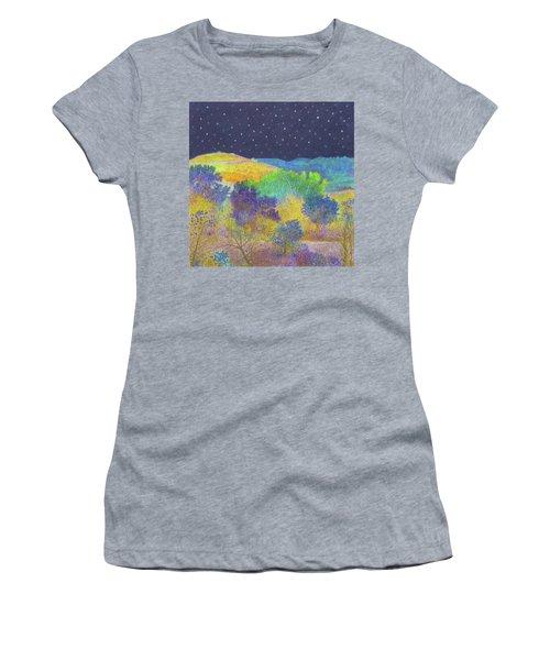 Midnight Trees Dream Women's T-Shirt