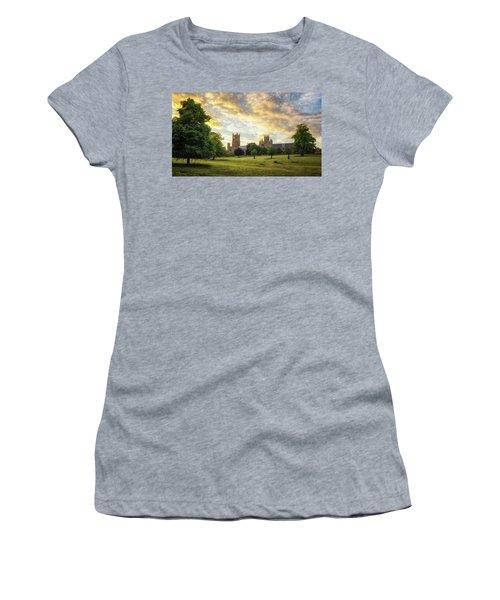 Midsummer Evening In Ely Women's T-Shirt
