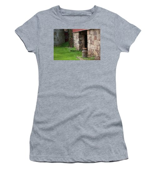 Milk Can At Stone Barn Women's T-Shirt