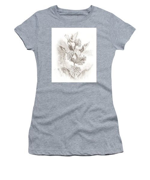 Milkweed Women's T-Shirt (Athletic Fit)