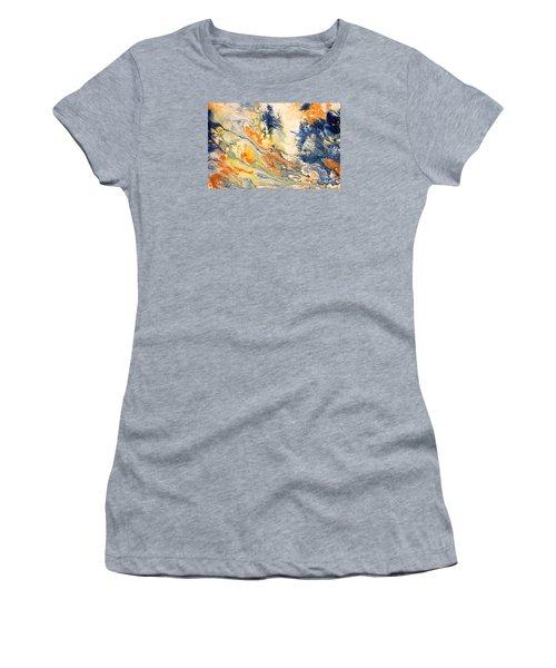 Mind Flow Women's T-Shirt (Junior Cut) by Gallery Messina