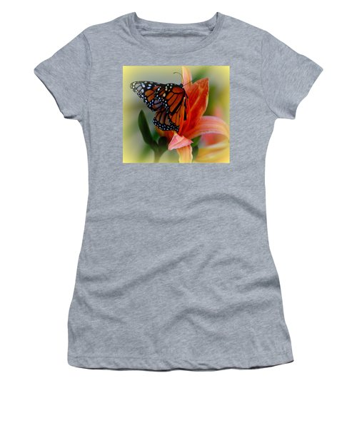 Mingle With A Monarch Women's T-Shirt