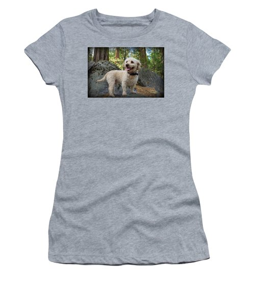 Mini Poodle Women's T-Shirt (Athletic Fit)