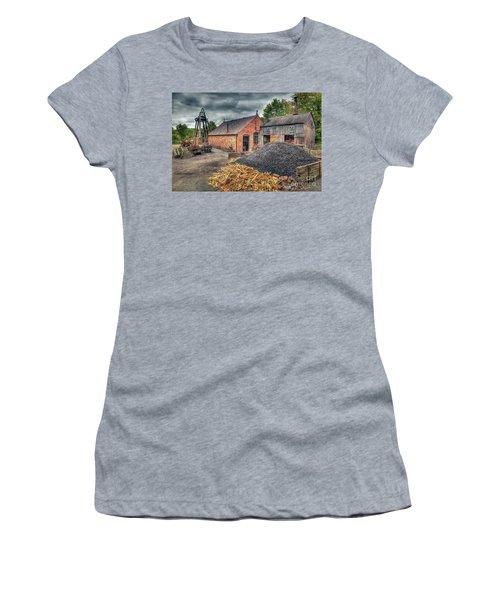 Women's T-Shirt (Junior Cut) featuring the photograph Mining Village by Adrian Evans