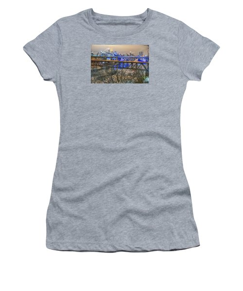 Minneapolis Bridges Women's T-Shirt (Athletic Fit)