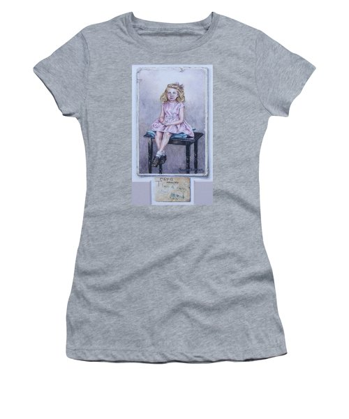 Missing Daddy, Devonshire 1940 Women's T-Shirt (Athletic Fit)