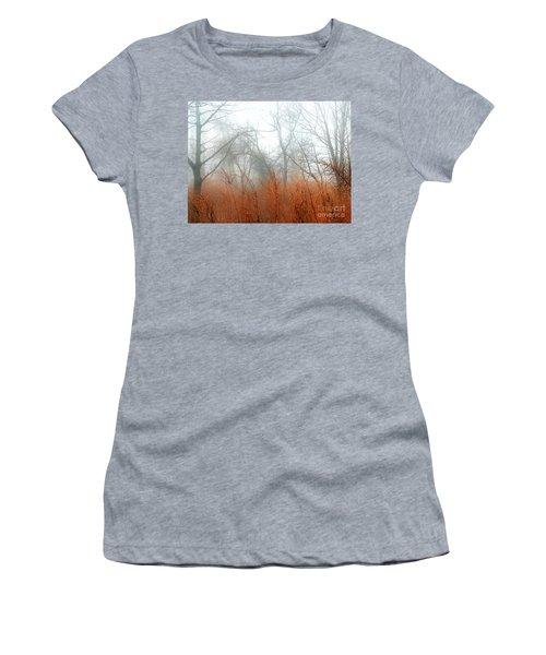 Misty Morning Women's T-Shirt (Junior Cut) by Raymond Earley