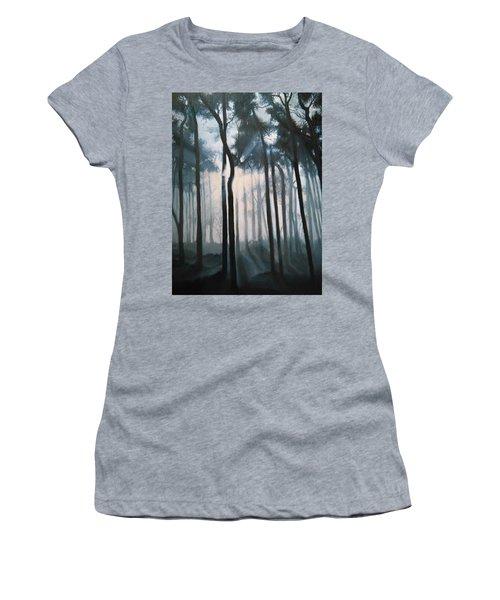 Misty Woods Women's T-Shirt (Athletic Fit)