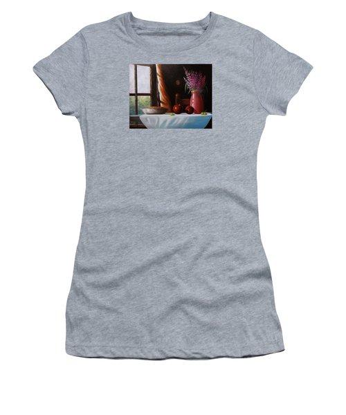 Mom's Apple Pie  Women's T-Shirt (Junior Cut) by Gene Gregory