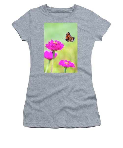Monarch In Flight 1 Women's T-Shirt