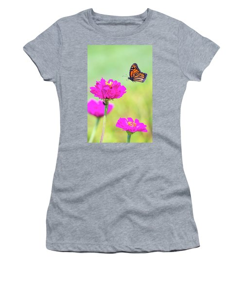 Monarch In Flight 1 Women's T-Shirt