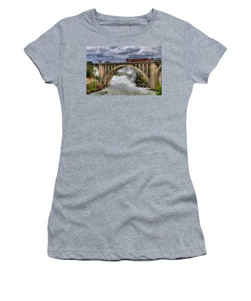 Monroe Street Bridge Spokane Women's T-Shirt