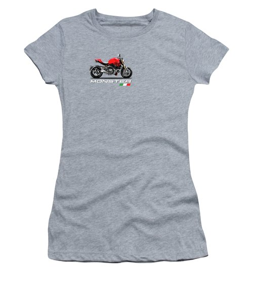 Monster 1200 Women's T-Shirt (Athletic Fit)