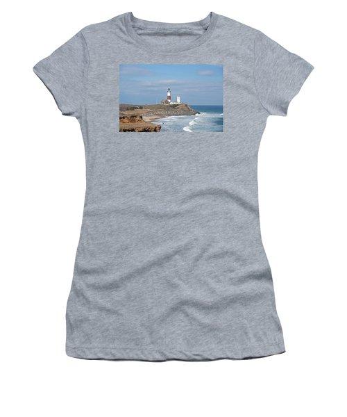 Montauk Lighthouse View From Camp Hero Women's T-Shirt