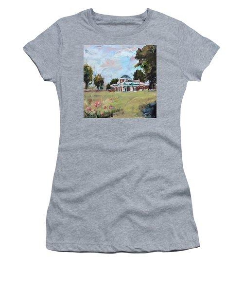Monticello Charlottesville Virginia Women's T-Shirt