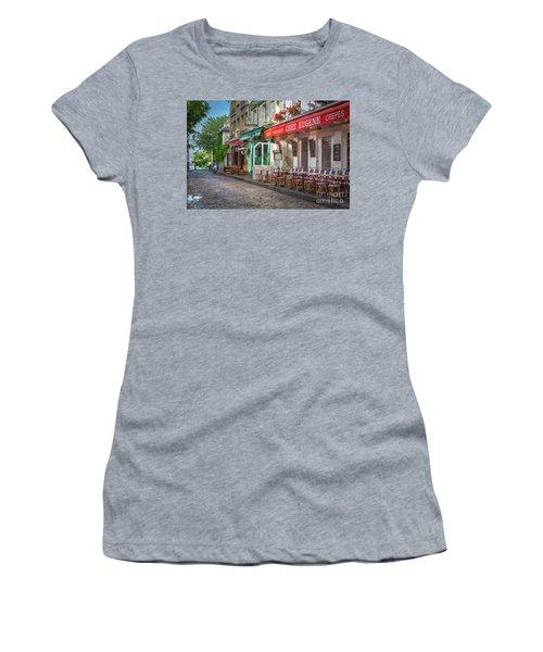 Montmartre Cafe Women's T-Shirt