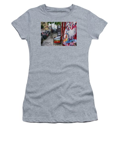 Montmartre Women's T-Shirt (Athletic Fit)