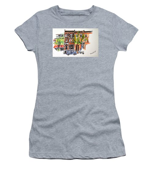 Montreal 1 Women's T-Shirt (Athletic Fit)