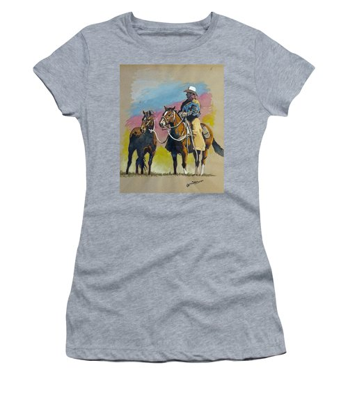 Monty Roberts Women's T-Shirt (Athletic Fit)