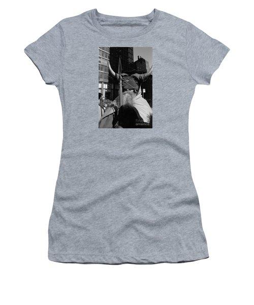 Moondog Nyc Tom Wurl Women's T-Shirt (Junior Cut) by Tom Wurl