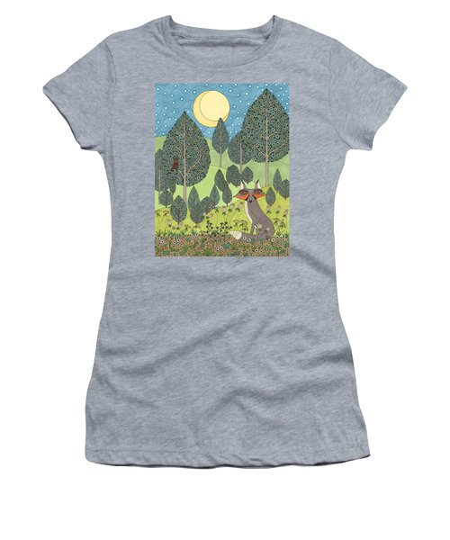 Moonlit Meadow Women's T-Shirt (Athletic Fit)