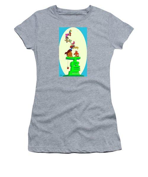 Moonrise Women's T-Shirt (Athletic Fit)