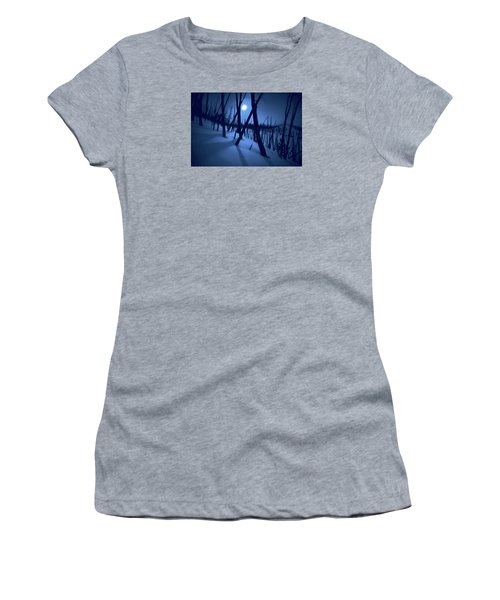 Moonshadows Women's T-Shirt (Athletic Fit)