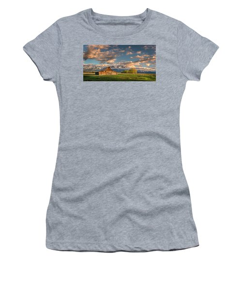 Mormon Row At Sunrise Women's T-Shirt