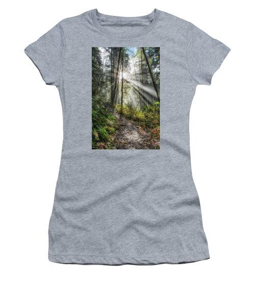 Morning Hike Women's T-Shirt (Athletic Fit)