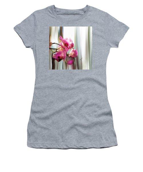 Morning Light Orchids Women's T-Shirt