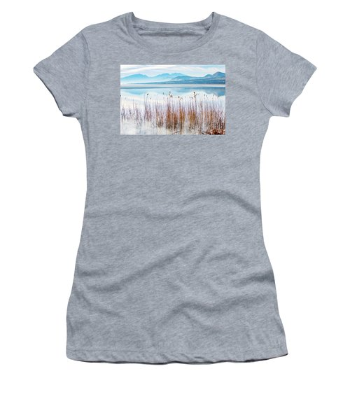 Morning Mist On The Lake Women's T-Shirt