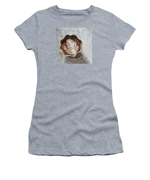 Morning Mocha Women's T-Shirt (Junior Cut) by Nathan Rhoads