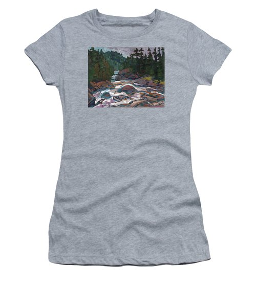 Morning On The Grande Chute Women's T-Shirt (Athletic Fit)